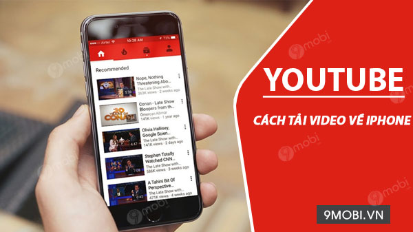 cach tai video tren youtube ve iphone