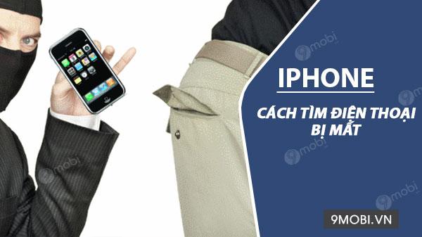 cach tim iphone bi mat