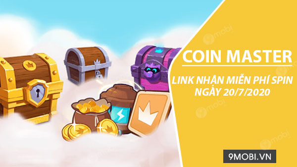 link collect spin coin master free ngay 20 7 2020