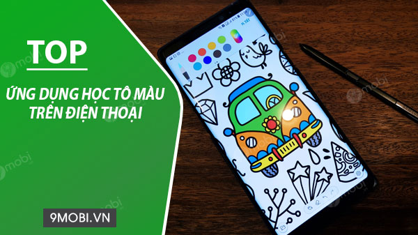 ung dung hoc to mau tren dien thoai android