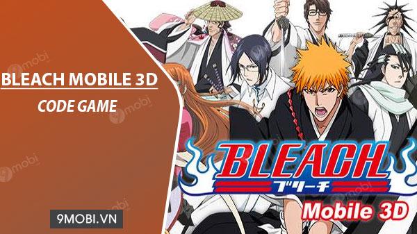 code game bleach mobile 3d