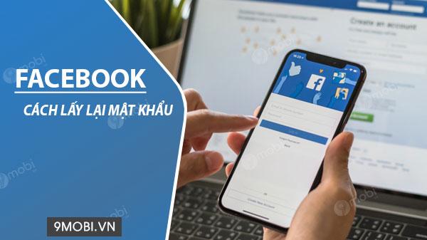 cach lay lai mat khau facebook tren dien thoai