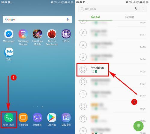 Chặn số điện thoại trên Samsung J7 Pro