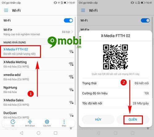 Điện thoại Huawei không vào được Wifi, nguyên nhân và cách khắc phục