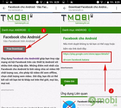 cach tai facebook cho mobiistar prime x1
