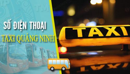 sdt taxi quang ninh