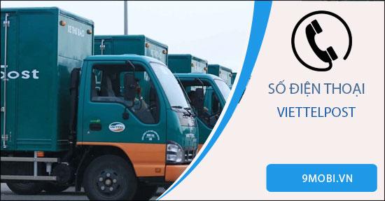 Số điện thoại tổng đài ViettelPost, hỗ trợ trực tuyến