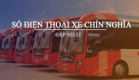 Số điện thoại xe Chín Nghĩa, Tuyến TP.HCM - Quảng Ngãi