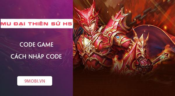 code game mu dai thien su h5