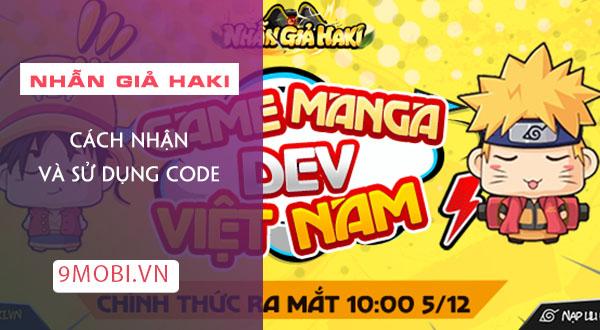 code game nhan gia haki