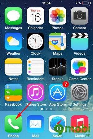 xoá tin nhắn thoại trên iPhone 6