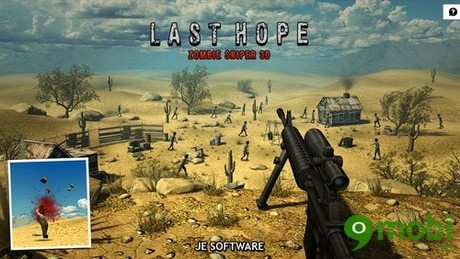 tải game Last Hope Zombie Sniper 3D cho Android