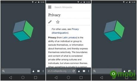 trình duyệt ẩn danh cho Android