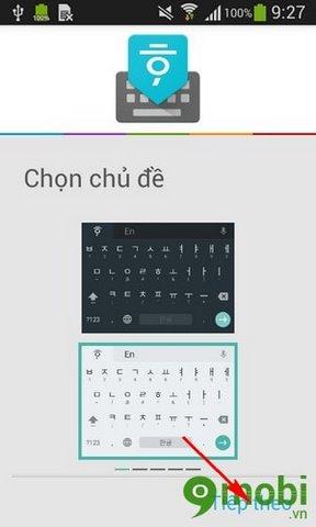 cach cai ban phim tieng han cho Samsung