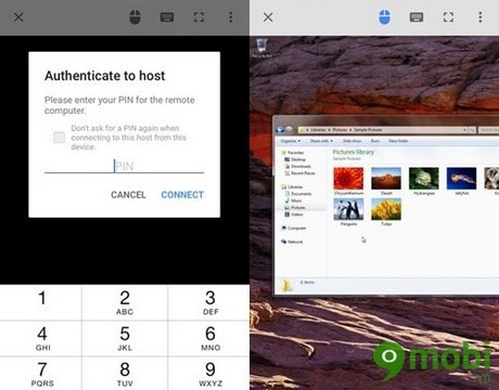 tai Chrome Remote Desktop cho iPhone