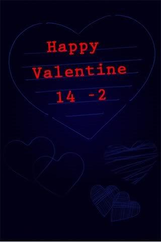 hinh nen valentine cho iPhone