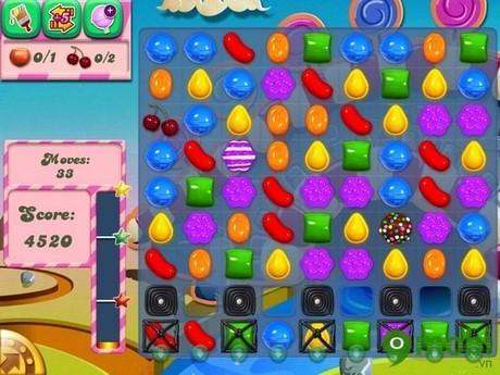 meo choi candy crush saga