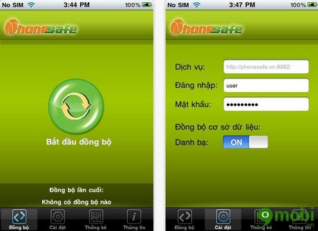 tai PhoneSafe cho iPhone