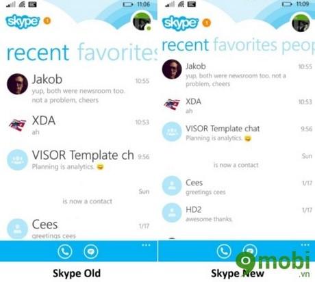 tai skype moi nhat cho Windows Phone