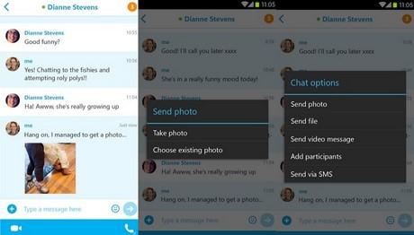 tai Skype 5.2 cho Android