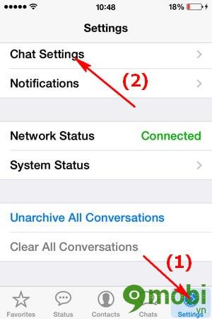 cach sao luu tin nhan va hinh anh trong WhatsApp