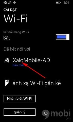cach doi dns tren windows phone