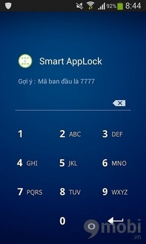 cach khoa ung dung Android