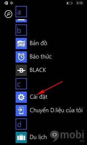 go nhieu ung dung tren Windows Phone
