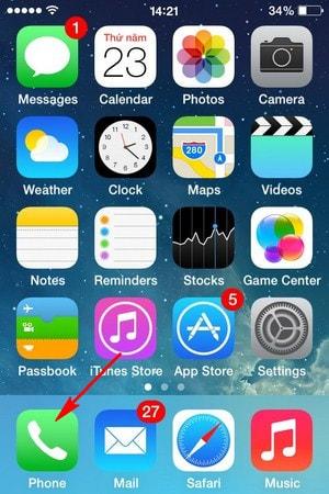 cach goi facetime tren iPhone