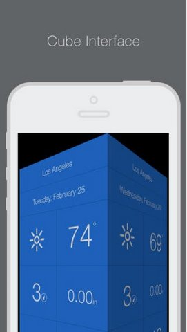 Weathercube for iOS mien phi