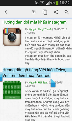 cach copy tren Android