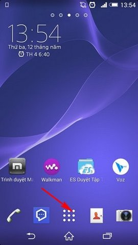 loi Wifi tu dong bat tren Sony Xperia
