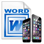 word cho iphone