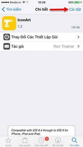 doi bieu tuong nhac iphone