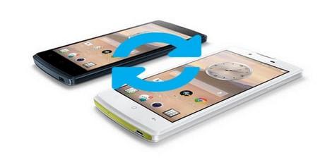 Bật - tắt chức năng tự động xoay màn hình Oppo