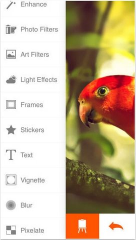 Phoenix Photo Editor cho iPhone mien phi