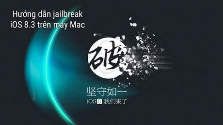 Jaibreak iOS 8.3 tren Mac iPhone 6 plus, 6, ip 5s, 5, 4s