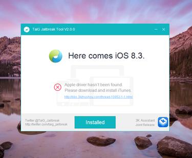 Khac phuc loi khi jailbreak iOS 8.3