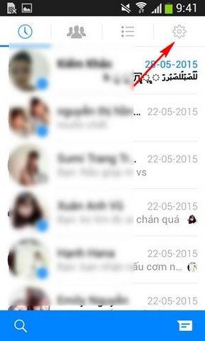 Tat chat head Facebook Messenger