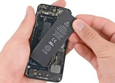 cach sac iphone 5s