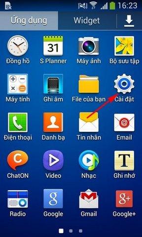 chuyen Facebook tren Android vao the nho