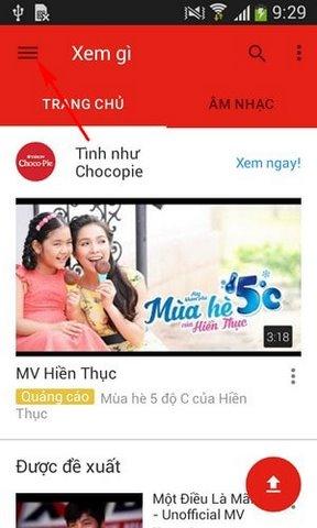 xem video 360 do tren Youtube