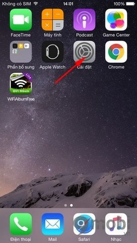Tat am thanh khi dang khoa tren iPhone 6