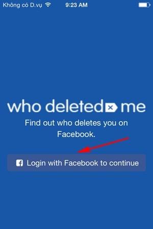 xem nguoi huy ket ban tren Facebook