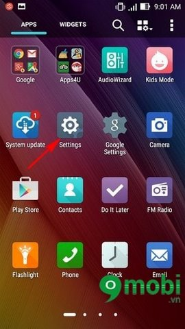 Kích hoạt mạng 3G cho điện thoại Zenfone
