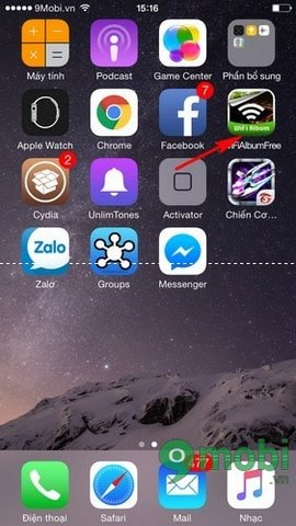 xoa cydia tren iphone