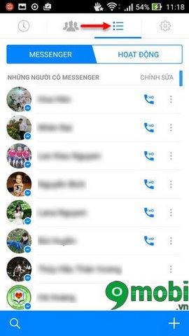 goi dien facebook tren Android