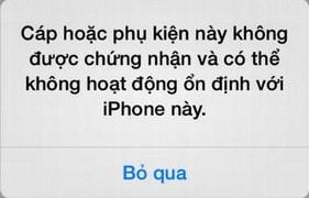 sua loi iphone khong nhan phu kien