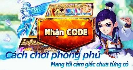 Giftcode phong van hiep khach