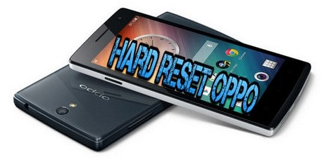 reset cung oppo